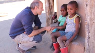 José Luis Lázaro Ansola. Misionero Zimbabue. Foto: Manos Unidas