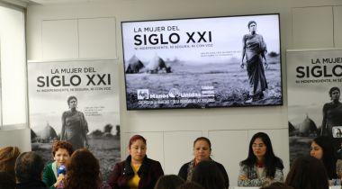 Mesa Redonda_Mujeres contra la violencia: Foto:Manos Unidas