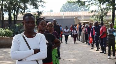 «Garantía de vida frente al coronavirus» (Día Mundial de la Asistencia Humanitaria 2020) | Kenia_Mukuru Promotion Centre