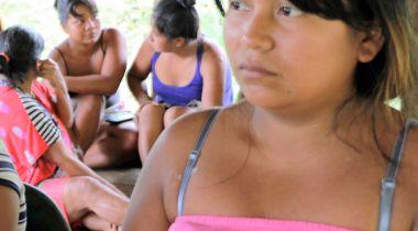 Maribel Velasquez_Gobernadora de la Comunidad del 20. Foto: Marta Carreño
