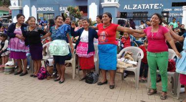 Mujeres protagonistas del proyecto