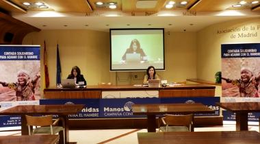 Presentación de la Campaña de Manos Unidas. Foto: Javier Mármol/Manos Unidas