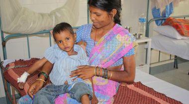 Centro de salud Snehadeep en India