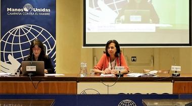 Presentacion de la Memoria de Actividades de Manos Unidas 2020. Foto: Javier Mármol