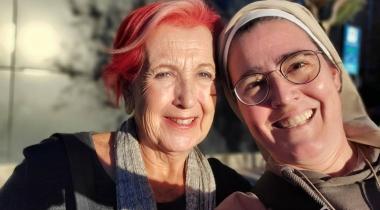 Rosa María Calaf y Victoria Braquehais. Foto: Manos Unidas