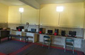 Aula de informática en Rourkela. Foto: Manos Unidas