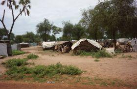 Refugiados en Campo de Doro