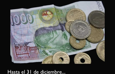 Campaña 'Tus pesetas pueden salvar vidas'