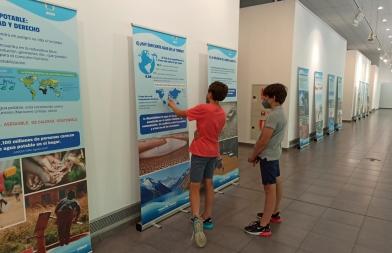 Exposición del Agua en el CIVIVOX Iturrama de Pamplona