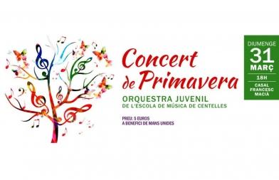Concierto de la Orquesta juvenil de la Escuela de Música de Centelles