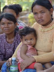 Campesinos camboyanos. Foto:Patricia Garrido
