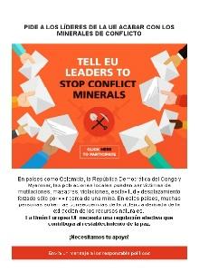 """Campaña contra los """"minerales de conflicto"""""""