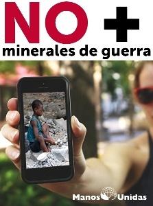 No más minerales de guerra