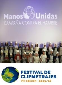 Presentación de Clipmetrajes: Foto Irene H-Sanjuán/Manos Unidas