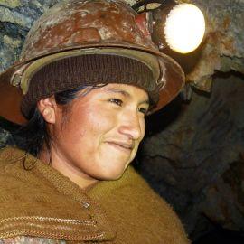Mujeres mineres en Japo, Bolivia