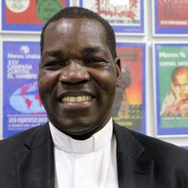 Eduardo Hiiboro Obispo de Sudán del Sur_Foto:Manos Unidas/Irene H-Sanjuán