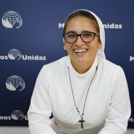 Janeth Aguirre. Foto: Manos Unidas