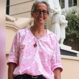 Josela Gil Navarro, religiosa de Jesús-María y socia local de Manos Unidas en Haití.