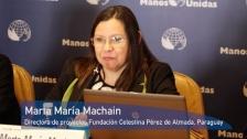 Marta María Machain. Rueda de Prensa Campaña 2018. Manos Unidas. #Comparteloqueimporta