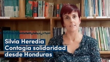 "Silvia Heredia ""Contagia solidaridad"" desde Honduras"